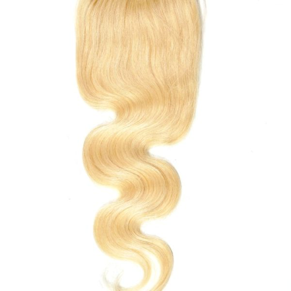Brazilian Russian Blonde Body Wave Closure