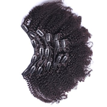 4C Hair Natural Clip-In Extensions