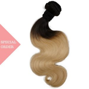 Russian Blonde Low Ombre Body Wave