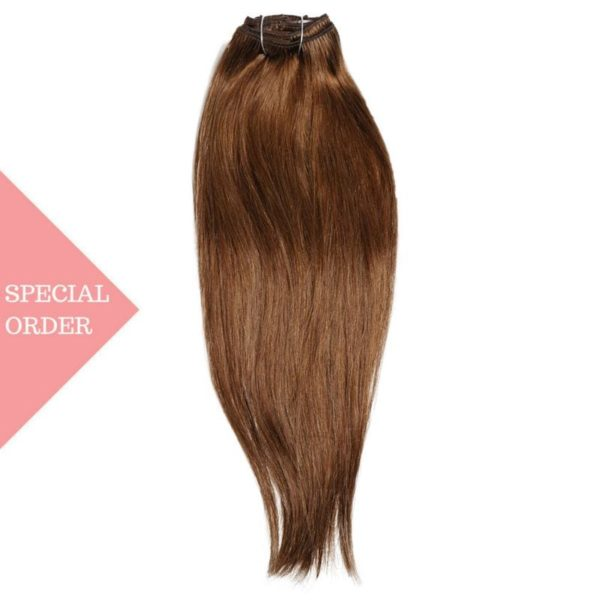 #6 Brunette Clip-In Extensions
