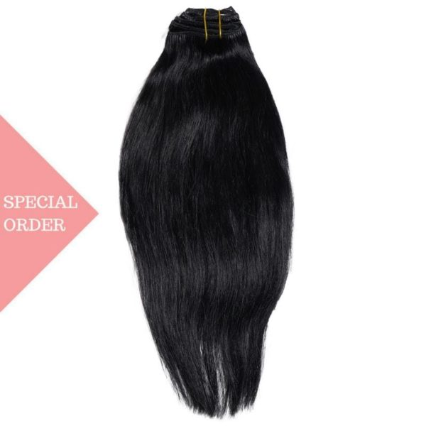 #1 Jet Black Clip-In Extensions