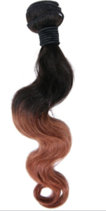 Brazilian Copper Ombre Body Wave Extensions