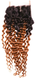 Copper Ombre Deep Wave Closure