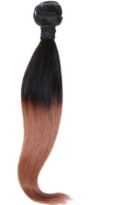 Brazilian Copper Ombre Straight Extensions